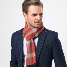 Winer Mens Plaids Scarves Grid Scarf Tartan Blankets Oversized Check Shawl Lattice Classic Wraps Business Cashmere Pashmina Wrap