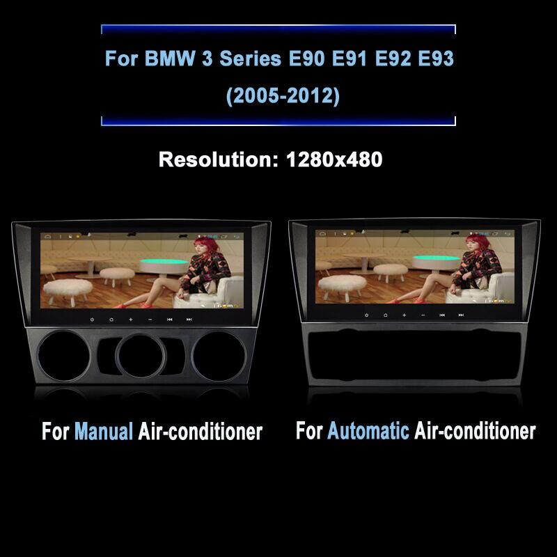 8.8 дюймов Экран Android 4.4 автомобиль GPS навигации Системы Авто Радио Стерео DVD проигрыватель для <font><b>BMW</b></font> 3 серии <font><b>E90</b></font> e91 E92 E93