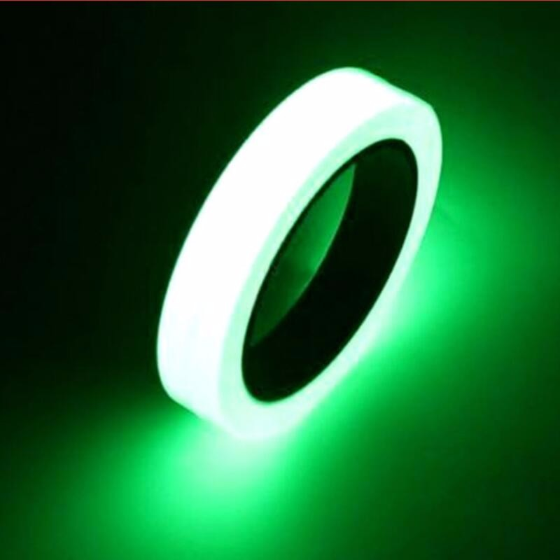 5PCS 3M*1CM Warning Stage Luminous Tape Self-adhesive Tape Night Vision Glow In Dark Safety Security Home Decoration Tapes