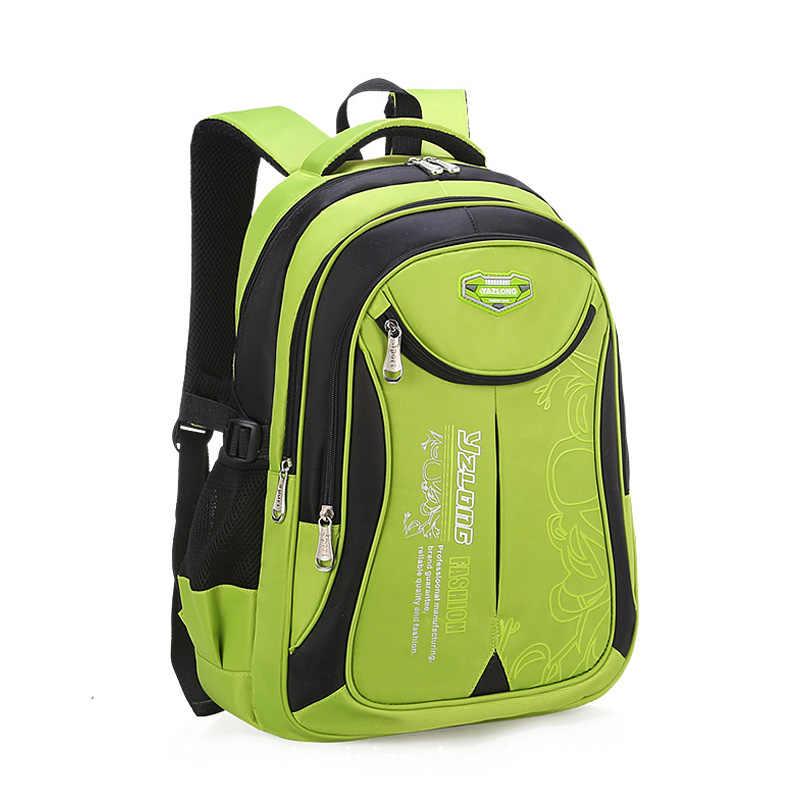2018 горячие новые детские школьные сумки для подростков мальчиков и девочек вместительный школьный рюкзак Водонепроницаемый ранец детская книга сумка mochila