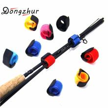 5pcs 10pcs Reusable Fishing Rod Tie Holder Strap Suspenders Fastener H