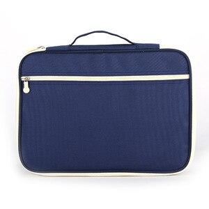 Image 3 - 防水 A4 ファイルオーガナイザーノートブックバッグ雑誌帳フォルダセットドキュメント男性の女性オフィスビジネスバッグ