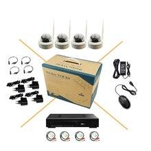 Wi-fi аудио 720 P HD Крытый Купол Ip-камера 1.0MPA металла 15IR Ночного Видения P2P onvif NVR Комплект Безопасности