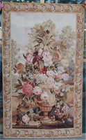 2014 Rushed Gobelin Picture Wall Hanging Tapestry Pure Wool Handmade French Gobelins Weave Tapestry 76cmx122cm 2.5 X 4 Gc10tap1