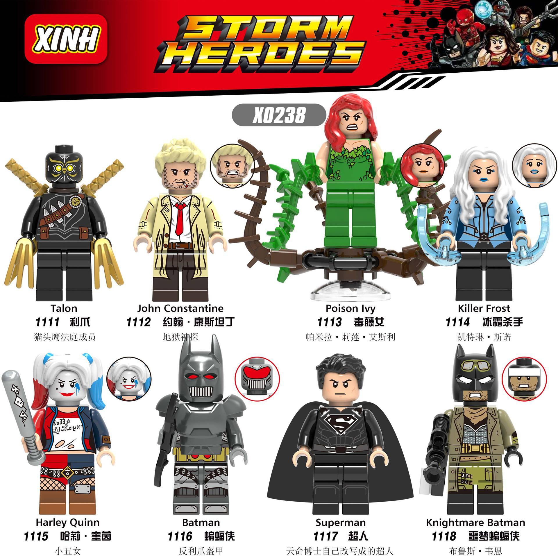 LEGO Batman Movie DC EL DORADO MINIFIGURE Genuine LOOSE NEVER ASSEMBLED 70919