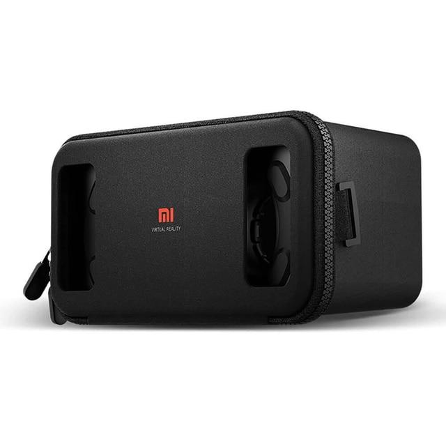 Xiaomi VR Virtual Reality 3D Glasses MI VR Cardboard Zipper Gaming Glasses FOV75 for iPhone 6 6S S7 Redmi 4.7~5.7 Smartphone