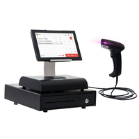 10 inch all in one pos system/cash machine/cash register
