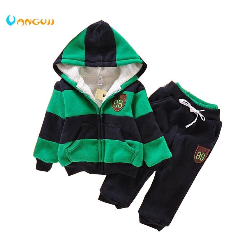 Boys Girls Children Hoodies Winter Wool Sherpa Baby Sports Suit New 2014 Jacket Sweater Coat & Pants Thicken Kids Clothes Sets феникс мешок для обуви пора в школу