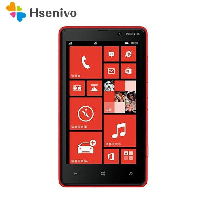 Original Nokia Lumia 820 Windows Phone 8 ROM 8GB Camera 8.0M