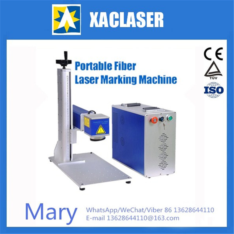 high precision fiber laser marking machine for stainless steel, metal plate,aluminum, silver, gold