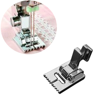 1Pcs 9 Folds DIY Sewing Low Holder Walking Foot Legs for Machines Metal Household Multifunction Machine Parts