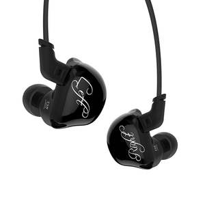 Image 3 - KZ ZSR Six Drivers In Ear Earphone Armature And Dynamic Hybrid Headset HIFI Bass With Replaced Cable Noise Cancelling Earbuds
