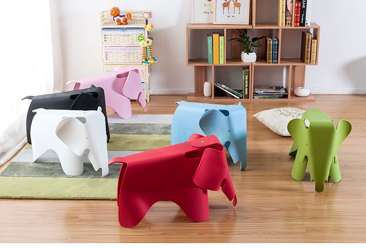Villa garden children's play stool black white orange red pink color for seletion free shipping