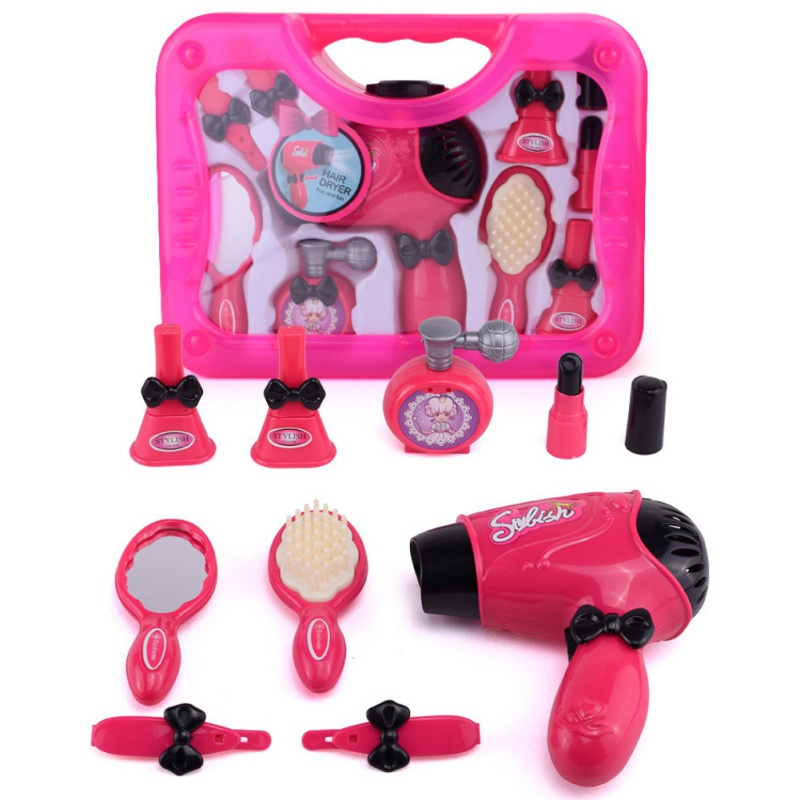 Toys for Girls Beauty Set Kids Gift Princess Hair Dryer Camera ...