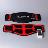 EMS heating belt slimming massage electric pulses EMS trainer muscle stimulator acupuncture tens physiotherapy myostimulator
