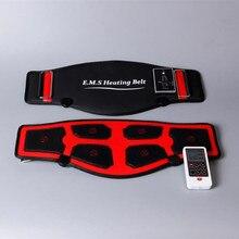 EMS нагревательный пояс массаж для похудения электрические импульсы EMS тренажер стимулятор мышц Акупунктура десятки физиотерапия миостимулятор