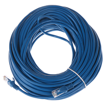 32-35m 110FT RJ45 Ethernet Cables Connector Ethernet Internet Network Cable Cord Wire Line Blue Rj 45 Lan CAT5e Ethernet Cable