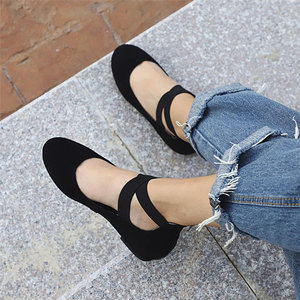 Women Shoes Ladies Summer Low Flat Heel Flip Flops Single Beach Shoes Casual Point Toe Comfort Fashion Style For Ladies Girls(China)