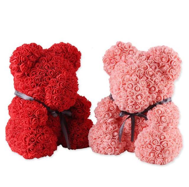 Seife Rose Bär Hochzeit Dekoration Valentinstag Geschenk Niedlichen Cartoon  Super Freundin Kind Geschenk Liebe Bär Puppen