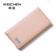 2017 Brand Women Wallet Long thin Purse Cowhide multiple Cards Holder Fashion Standard Wallet