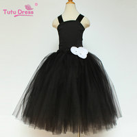 Princess Wedding Bridesmaid Flower Girl Dress Kids Clothes Party Tutu Dresses