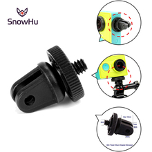 Gopro Accessories Mini Tripod Adapter Monopod Mount For GoPro HD Hero 4 3+3 Camera Action Sport sjcam SJ4000 GP60 Free shipping