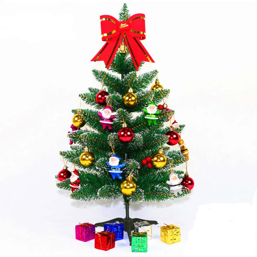 60cm Artificial Christmas Tree Set With Christmas