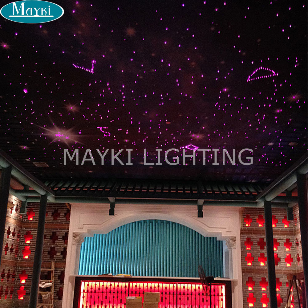 Maykit Fiber Optic Lighting Using 10w White Led Fiber Optic Projector, With Twinkle Effect And Remote Controller ray tricker optoelectronics and fiber optic technology