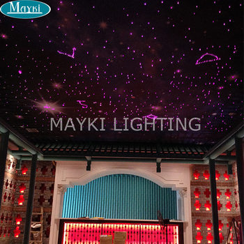 Maykit Fiber Optic Lighting Using 10w White Led Fiber Optic Projector, With Twinkle Effect And Remote Controller