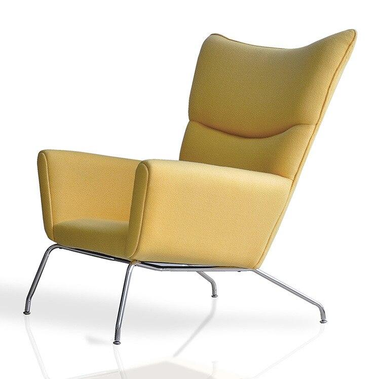vleugel stoel vleugel stoel couture stof fauteuil modern