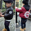 New Winter Children outerwear boys Fashion Jackets Coat Kids Jacket Warm Hooded Clothing for 2-6 years old