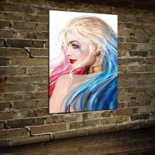 DC Харли Квинн плакат картина Искусство Печать холст домашний Декор стены без рамы