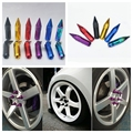 Tornillos de rueda racing tuercas 90mm de aluminio m12x1.5 jdm tuercas de las ruedas para toyota honda mitsubishi mazda chevrolet ford focus kia