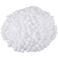 YHYS Pompoms for Craft Making and Hobby Supplies, 500 Pieces,1.5 cm(White)