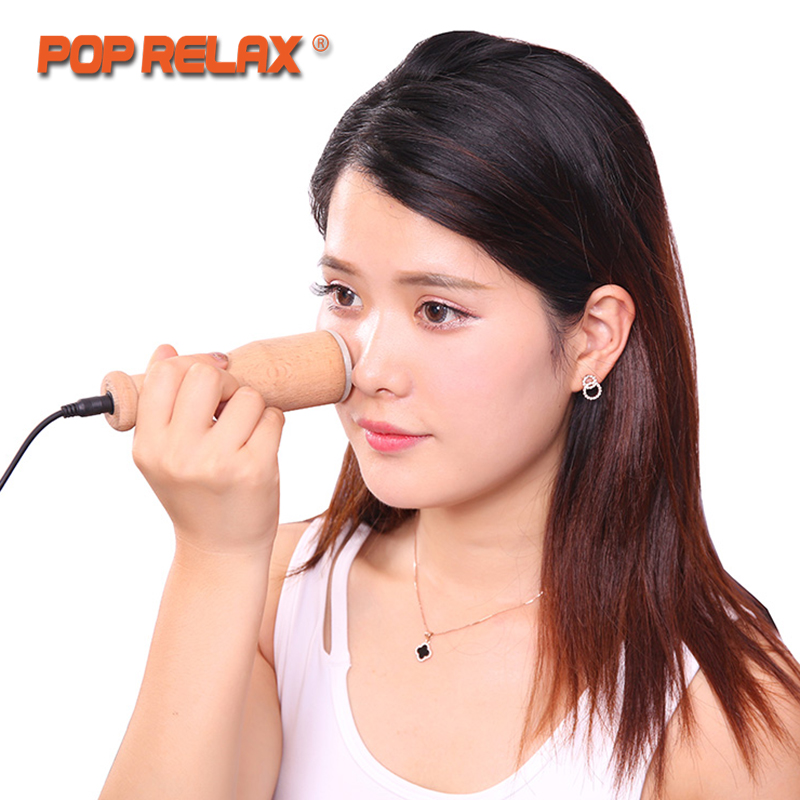 POP RELAX Real Jade Heating Roller Moxa Facial Beauty Skincare Device Remove Nasolabial Folds Wrinkles Health Care Face Massage цена