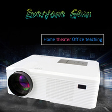 3D function LCD Projector Full HD Widescreen Home Theater Proyector 50000hrs lamp life Support 720P 1080P LED Beamer DH-TL261