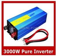 Чистая синусоида Инвертор 3000 Вт специально дизайн, чтобы мощность двигателя, кондиционер, холодильник и т. д. индуктивных нагрузок