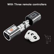 L5SR-Plus WELOCK Bluetooth APP умный замок электронный цилиндр открытый водостойкий Keyless биометрический сканер отпечатков пальцев Дверной замок