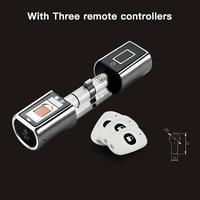 L5SR Plus WELOCK Bluetooth APP Smart Lock Electronic Cylinder Outdoor Waterproof Keyless Biometric Fingerprint Scanner door lock