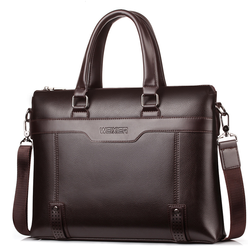 Famous Brand Men Briefcase Bag Business Shoulder Messenger Bags Men Office Handbag Large Capacity Male Bag WBS504