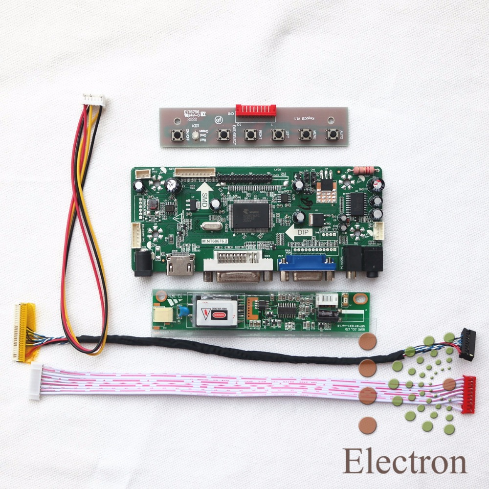HDMI+VGA+DVI+Audio LCD Controller Board M.NT68676.2A for 14.1
