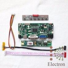 "HDMI + VGA + DVI + Ses LCD Denetleyici Kurulu M. NT68676.2A için 14.1 ""15.4"" LCD paneli LTN141AT07 LP141WX3 LTN154W1 LTN154X3 1280×800"