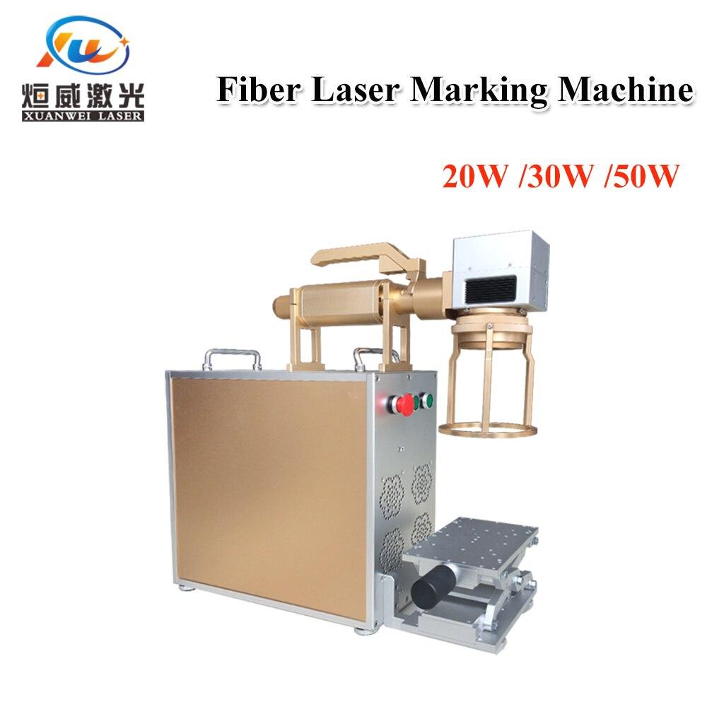 Handheld Mini Fiber Laser Marking Machine 20w 30w 50w Laser Engraving Machine For Metal & Non-Metal