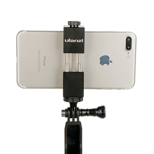 Image 5 - Ulanzi alüminyum 1/4 Tripod montaj adaptörü Gopro Hero 5 6 4 oturumu Xiaomi Yi 4K SJCAM SJ4000 eken H9 eylem kamera aksesuar