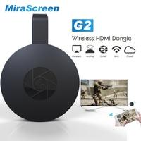 2017 New Hot MiraScreen G2 Wireless HDMI Dongle TV Stick 2 4G 1080P HD TV Dongle
