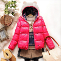 New winter jacket with Cat ears thickening wadded coat bread service cotton-paddedD843