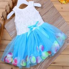 Baby Girls Beautiful Flower Mini Tutu Dress