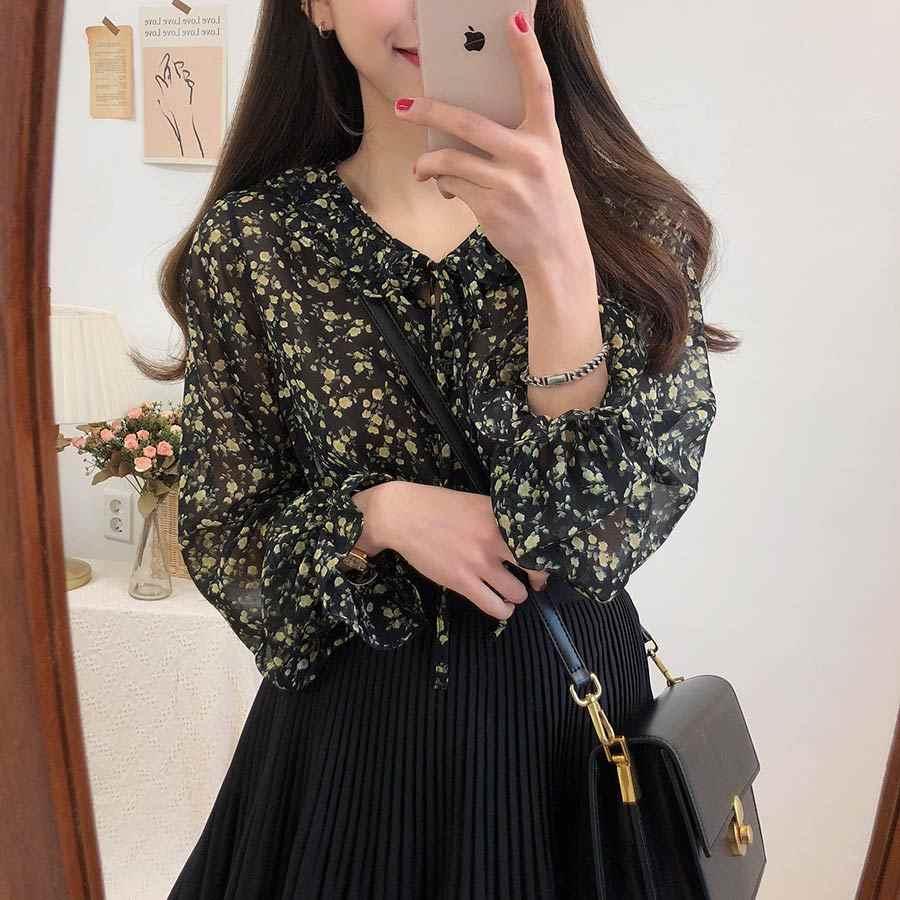 Cuello en v camisa sexy verano albaricoque negro Blusa de gasa mujeres tapas mujer Casual mujeres de manga corta chicas Blusa de encaje de talla grande