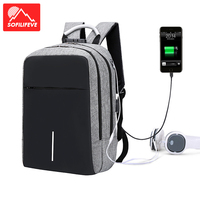 Men Business Backpack Anti theft Password Lock Bag Outdoor Sports Hiking Camping Luggage Bags USB Earphone Running Trekking Sack