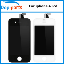 20PCS/LOT For iPhone 4 LCD Display Grade AAA Quality LCD Screen With Digitizer Touch Screen Replacement free shipping by DHL цена